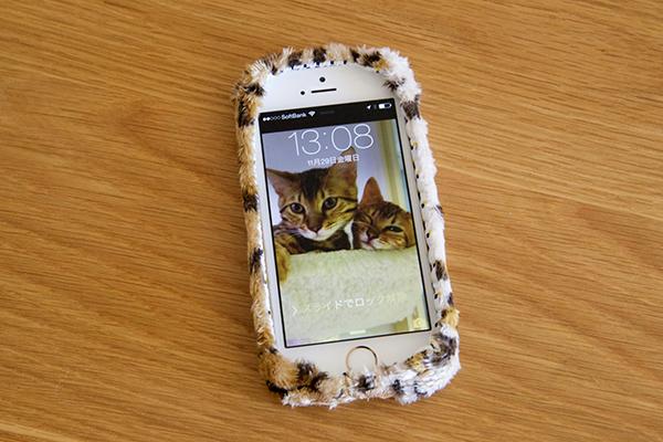 KEORA KEORA iPhone5s ヒョウ カバー