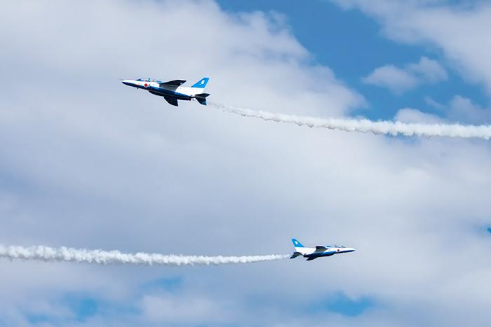 2014 入間航空祭 編隊飛行とはロマン ブルーインパルス