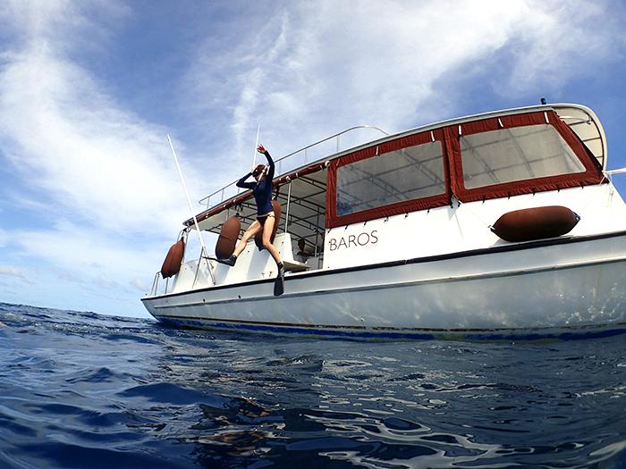2015年 バロスモルディブ旅行記 ボートシュノーケル